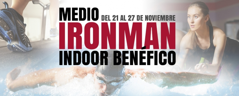 Medio IronMan Indoor benéfico