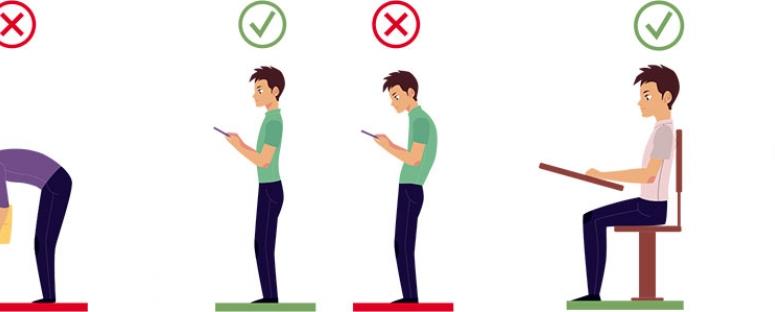 higiene postural y ergonomia